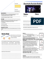 Electricity Revision Booklet