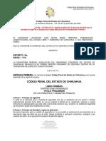 Código Penal Para el estado de Chihuahua 2016.pdf