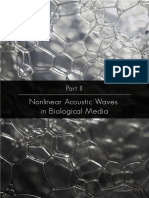 Nonlinear Acoustic Waves in Complex Media, Part III. NJimenez