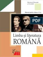 Limba Romana Clasa 11