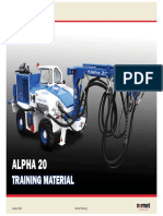 Alpha 20 Training Material Small File