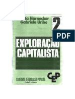 Cadernos de Formação Popular 2- Exploração Capitalista