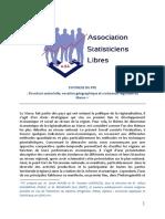 Synthèse Du PFE Structure Sectorielle, Vocation Géographique Et Croissance Régionale Au Maroc | Association Des Statisticiens Libres | ASL
