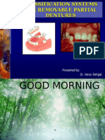 Classification Systems in Rpd