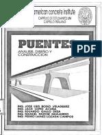 Puentes Análisis, Diseño y Construcción-jose Luis Bosio