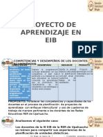 Proyecto de Aprendizaje EIB