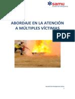 Curso de Abordaje en La Atencion a Multiples Victimas