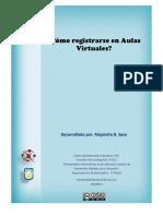 Instructivo Para Registrarse en Aulas Virtuales