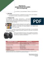 Practica 2. Elaboracion de Un Polimero Sintetico