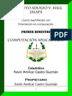 Computacion Aplicada Unidad I 2017