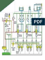 Plano Hidraulico Del Sistema de Direccion