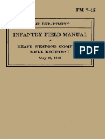 (1942) FM 7-15 Heavy Weapons Company, Rifle Regiment