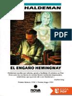 Joe Haldeman - El Engaño Hemingway