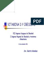 Vitamina D y Obesidad, Dra. Mendoza.pdf