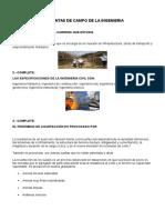 Preguntas de Campo de La Ingenieria