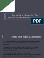 Economc3ada y Educacic3b3n