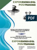 exponentesdelpositivismo-121213164639-phpapp02