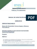 Manual de Curso Desarrollo Sustentable y Sistemas Fotovoltaicos