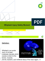 Whiplash Injuries