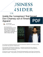 Dov Charney Forced Out of American Apparel - Business Insider
