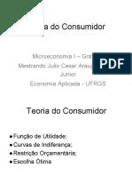 Teoria do Consumidor - Gráficos aula 1