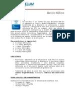 Acido Fólico - revisión