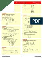 Matrices y Determinante