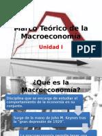 Unidad I. Marco Teórico de La Macroeconomía. ESCA IPN