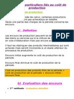 Problèmes Particuliers Liés Au Coût de Production (Presentation)