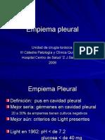 Empiema Pleural