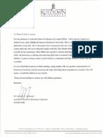 letter of rec- gehringer
