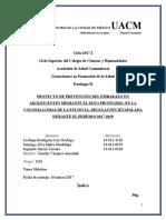 PROYECTO DE PATOLOGÍA II