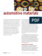 Next Step for Automotive Materials
