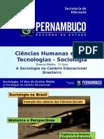 A Sociologia No Cenário Educacional Brasileiro