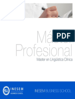 Master en Linguistica Clinica
