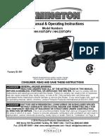 Remington Silent Drive Heater Manual
