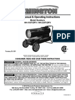 Remington Silent Drive Heater Manual
