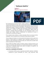 Software a la Ingenieria Petrolera