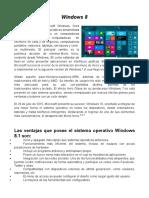Windows 8 y 10 Ventajas y Desventajas