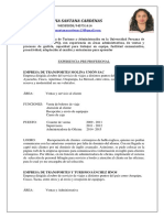C.vitae Silvia Santana Cardenas PDF