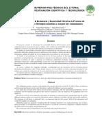 Determinación de La Resistencia y Resistividad Eléctrica de Probetas de Varios Diseños de Hormigón Sometidas a Ataques de Contaminantes