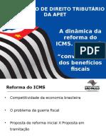 A Dinamica Da Reforma Do Icms