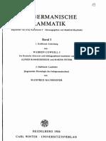 Mayrhofer Cowgill Indogermanische Grammatik