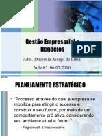 Aula 05 de 14 - Gestão Empresarial e Negócios (06-07-10)