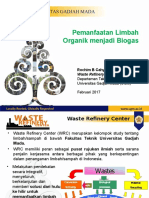 Profile Waste Refinery - Biogas Production