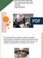 Lineamientos Técnicos Para La Elaboración de Documentos Administrativos