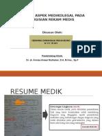 Aanalisis Aspek Medikolegal Pada Pengisian Rekam Medis (Fix)