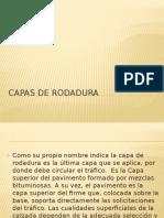 Capas de Rodadura Expo Total
