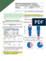 Taller Pre Parcial 1 Estadística i - 2017 - i Solucionario