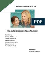 My Sister's Keeper Movie Analysis
